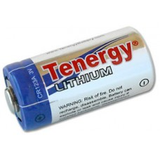 CR123A Tenergy Lithium 3V Propel Primary Battery (w/PTC) 30214