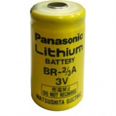 BR2/3A PANASONIC 3V 1.2Ah 17mm x 33.5mm Lithium Flashlight Battery