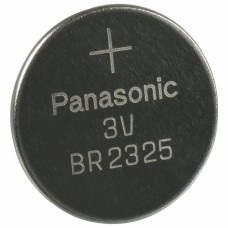 BR2325 PANASONIC LITHIUM COIN 3V 23MM X 2.5MM