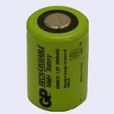 GP200SCH GP BATTERY 4/5SUB C CELL NIMH 2000 MAH FLAT TOP