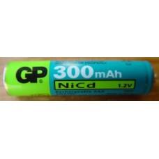 GP30AAAKC GP BATTERY AAA NICD CONSUMER BUTTON TOP