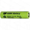 GP80AAAH GP BATTERY AAA CELL NIMH 780MAH FLAT TOP
