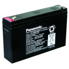 LCR067R2P PANASONIC SLA 6V 7.2AH SEALED LEAD ACID